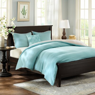 Marlon 3 Piece Reversible Duvet Cover Set