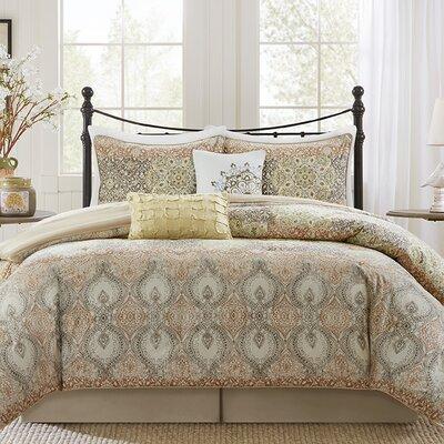 Harbor House Sanya 4 Piece Comforter Set - Size: Queen, Color: Tan