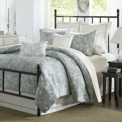 Chelsea 4 Piece Reversible Comforter Set Size: Queen