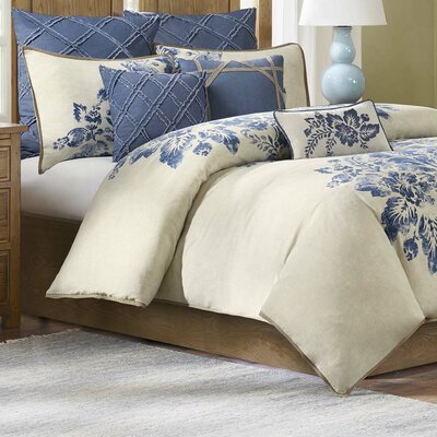 St. Tropez Duvet Cover Size: Full/Queen
