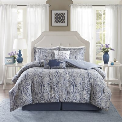 Stella 6 Piece Comforter Set Size: California King