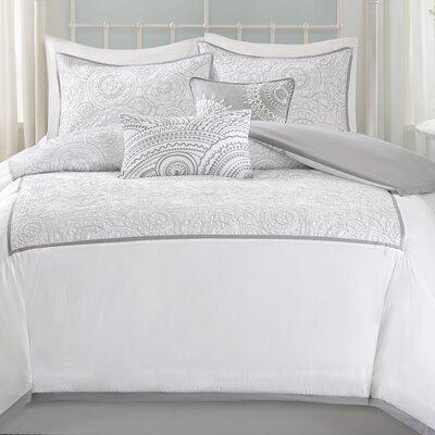Cranston 6 Piece Comforter Set Size: King