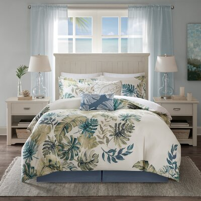 Lorelai 6 Piece Comforter Set Size: California King