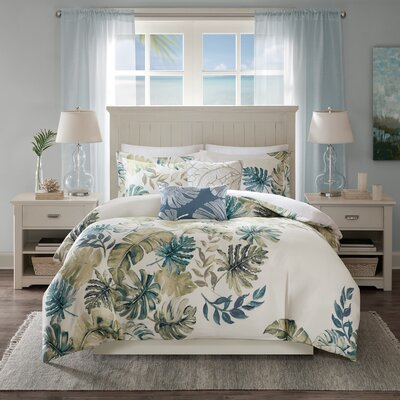Lorelai 5 Piece Duvet Cover Set Size: Full/Queen