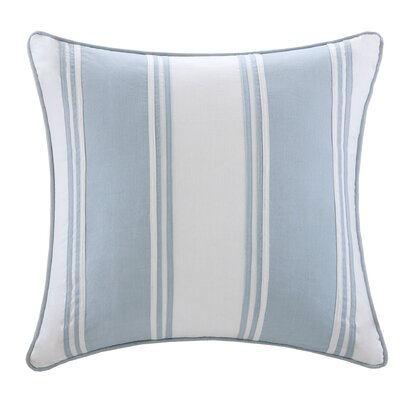 Crystal Beach Cotton Throw Pillow