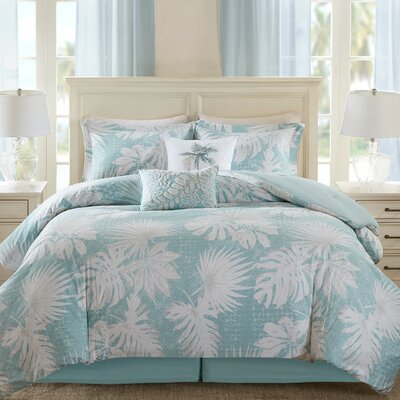 Palm Grove 6 Piece Comforter Set Size: Full