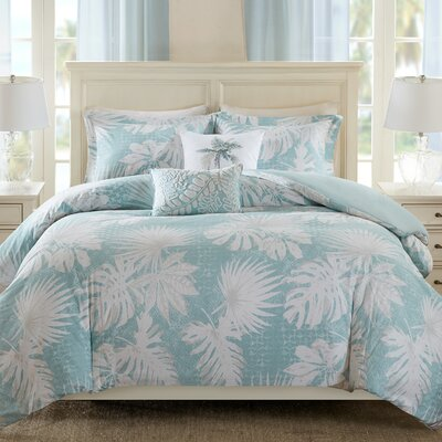 Palm Grove 5 Piece Duvet Set Size: Full/Queen