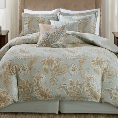 Sienna 6 Piece Comforter Set Size: California King