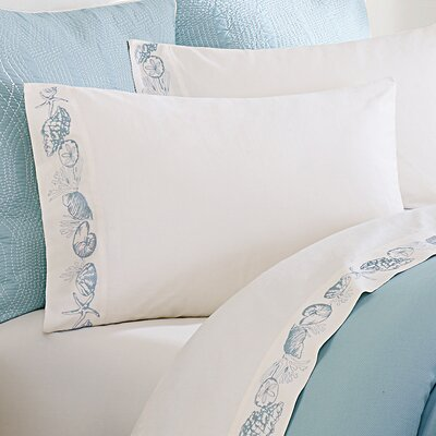 Coastline 250 Thread Count Sheet Set Size: Queen