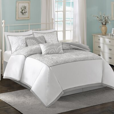 Cranston 6 Piece Comforter Set Size: King