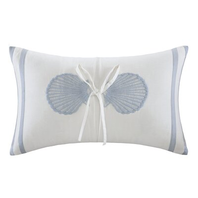Crystal Beach Cotton Lumbar Pillow