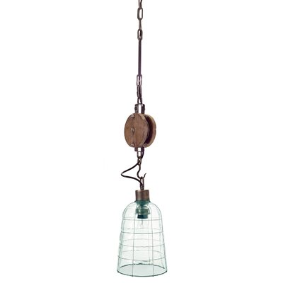 Pulley 1-Light Mini Pendant