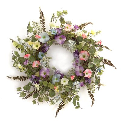 "23"" Morning Glory Wreath 66149"