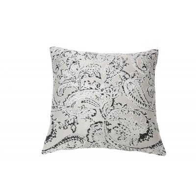 Art of Home Arabesque Throw Pillow Color: Charcoal