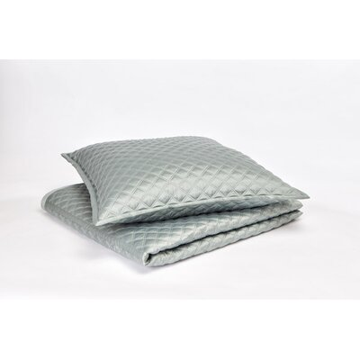 Malabar Coverlet Set Color: Sea Blue, Size: Queen