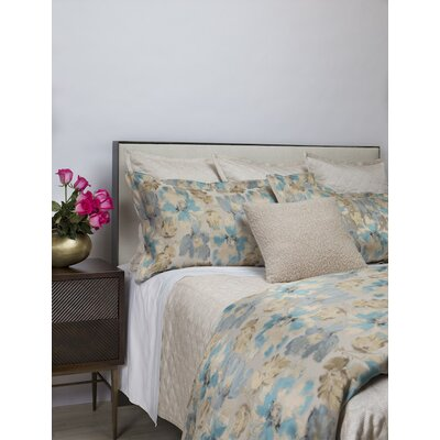 Alana Smokey Duvet Set Size: King, Color: Blue