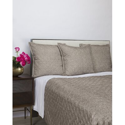 Araceli Raffia Coverlet Set Size: King