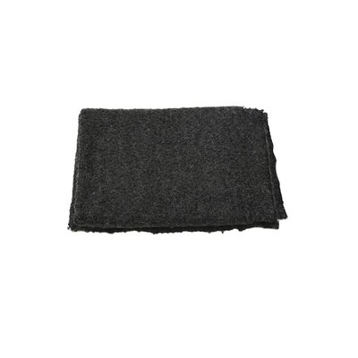 Fishback Boucl� Throw Color: Charcoal