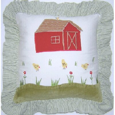 Appletree Farm Barn Decorator Throw Pillow