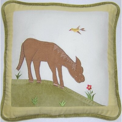 Appletree Farm Horse Decorator Throw Pillow