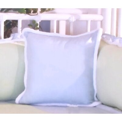 Sammy Throw Pillow Color: Green