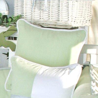 One Little Froggie Green Decorator Throw Pillow