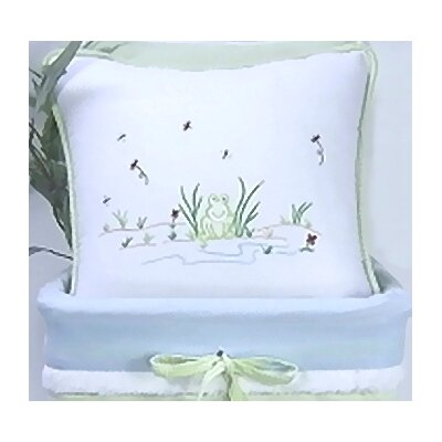 Sammy The Frog Decorator Throw Pillow