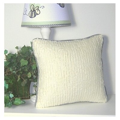Flutter Bees Decorator Chenille Throw Pillow