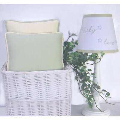 Star Bright Throw Pillow Color: Celery