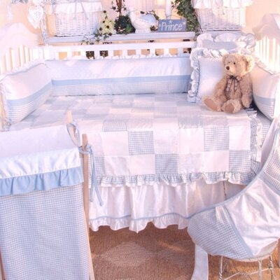 Prince Blue Crib Bedding Collection