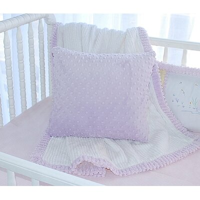 Carlie Minky Dot Throw Pillow
