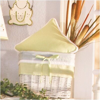 Sammy The Frog Gingham Decorator Throw Pillow