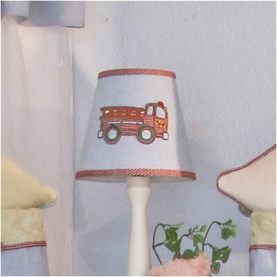 Fire Engine 8 Cotton Empire Lamp Shade