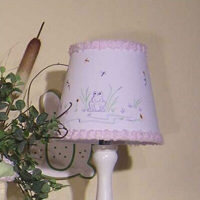 Froggy Lavender 8 Cotton Empire Lamp Shade