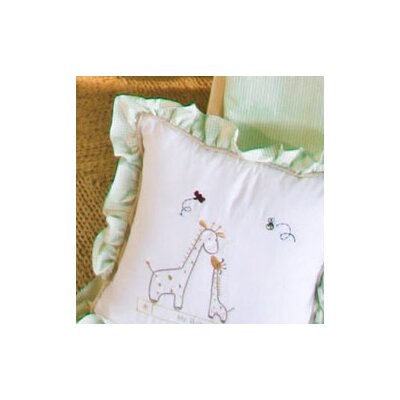 Little One Giraffe Decorator Throw Pillow