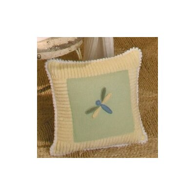 Ribbit Dragonfly Decorator Throw Pillow