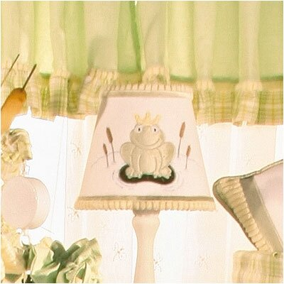Ribbit 8 Cotton Empire Lamp Shade
