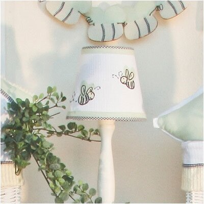Flutter Bees 8 Cotton Empire Lamp Shade