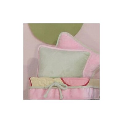 Minky Bubbles Throw Pillow Color: Sage