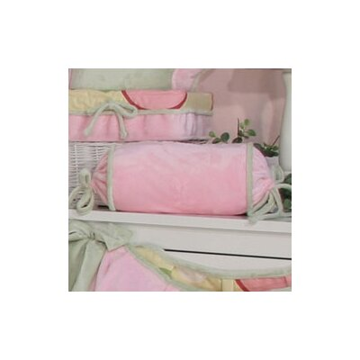 Minky Bubbles Bolster Pillow Color: Pink