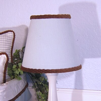 8 Cotton Empire Lamp Shade Color: Blue
