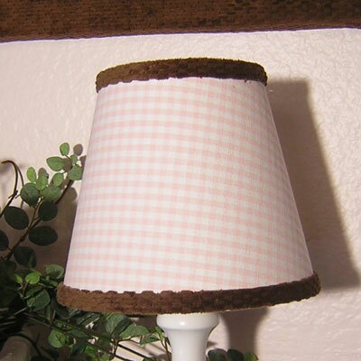 8 Cotton Empire Lamp Shade Color: Pink Gingham
