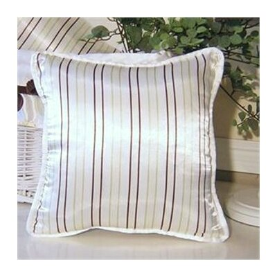 Ash Striped Throw Pillow Color: Lemon