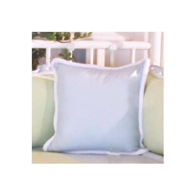 Sammy Throw Pillow Color: Blue