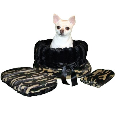 Snuggle Bug Reversible Camo Pet Carrier