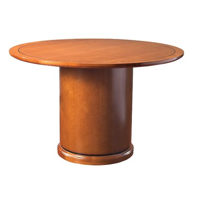 Mendocino Circular 30H x 48W x 48L Conference Table Finish: Satin Cherry