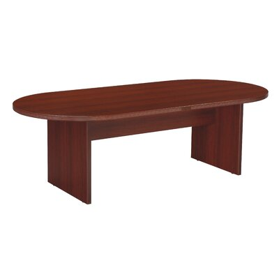 Napa Oval Conference Table Size: 8 L, Finish: Mahogany