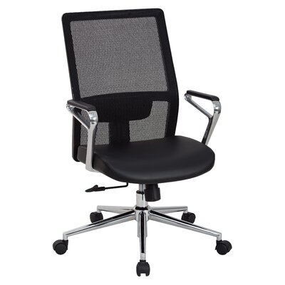 High Back Mesh Managers Chair with Arms and Base Product Photo 433