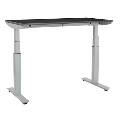 Ascend Height Adjustable Desk Finish: Espresso/White
