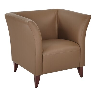 Lounge Chair Seat Color: Taupe